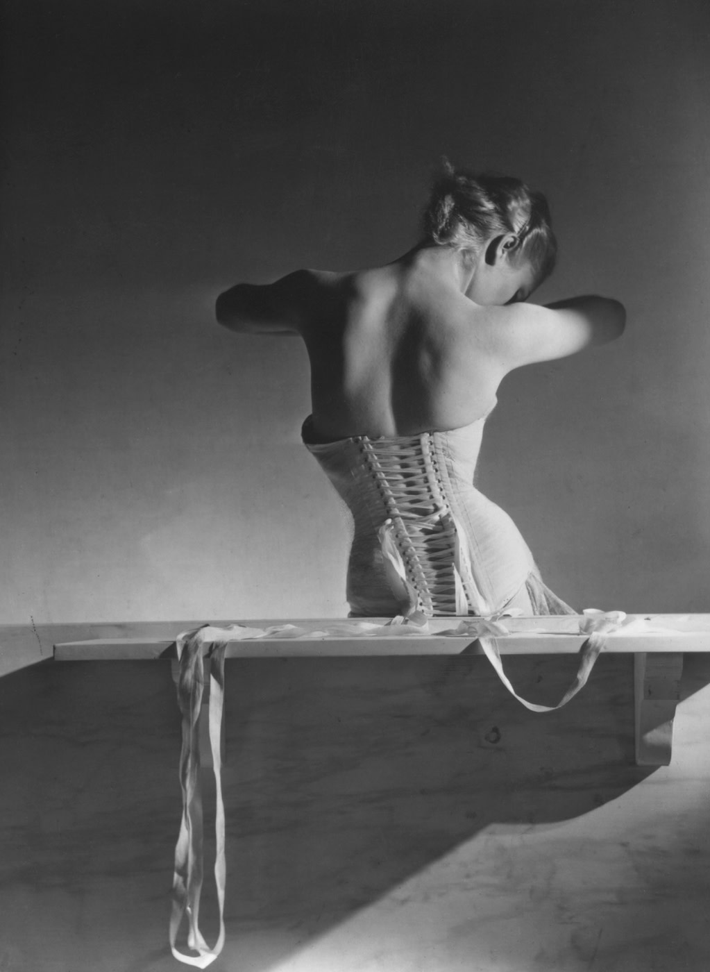 Horst P. Horst, Mainbocher Corset, Paris, 1939