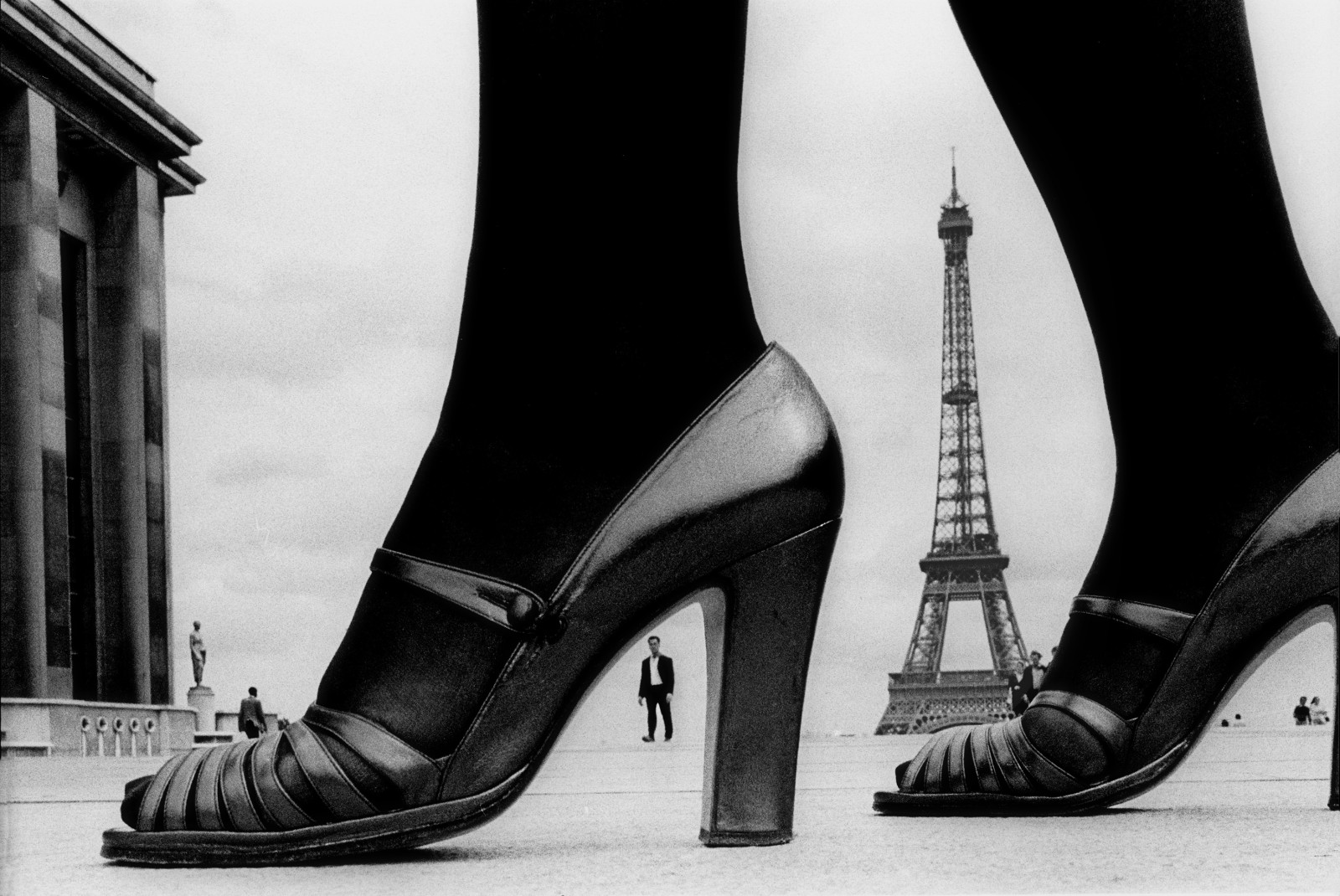 Paris, Shoe and Eiffel Tower A, 1974