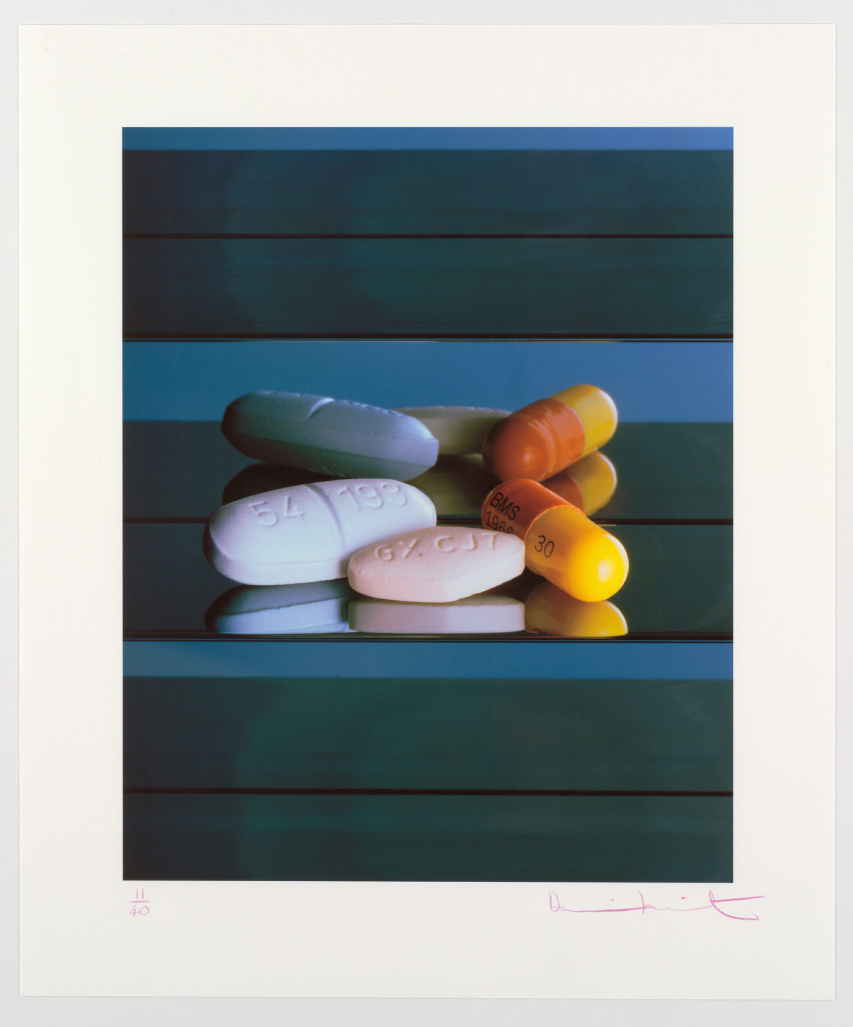 Damien Hirst: AIDS/HIV Drugs, 2008
