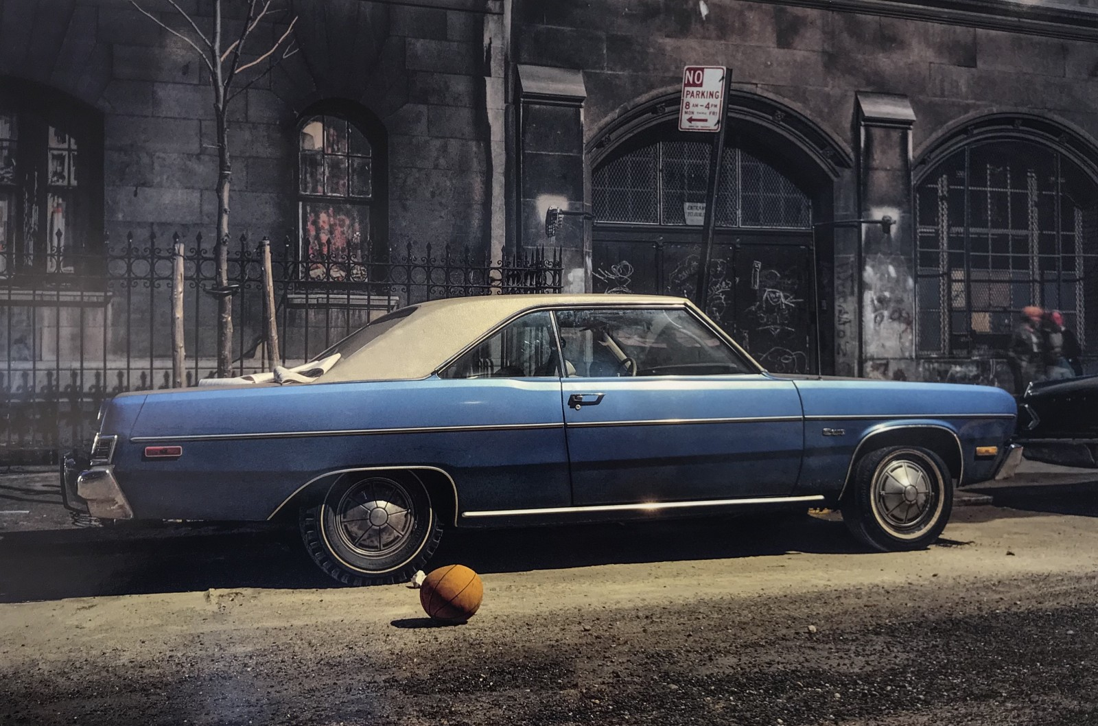 Basketball Car, Plymouth Duster, 1974