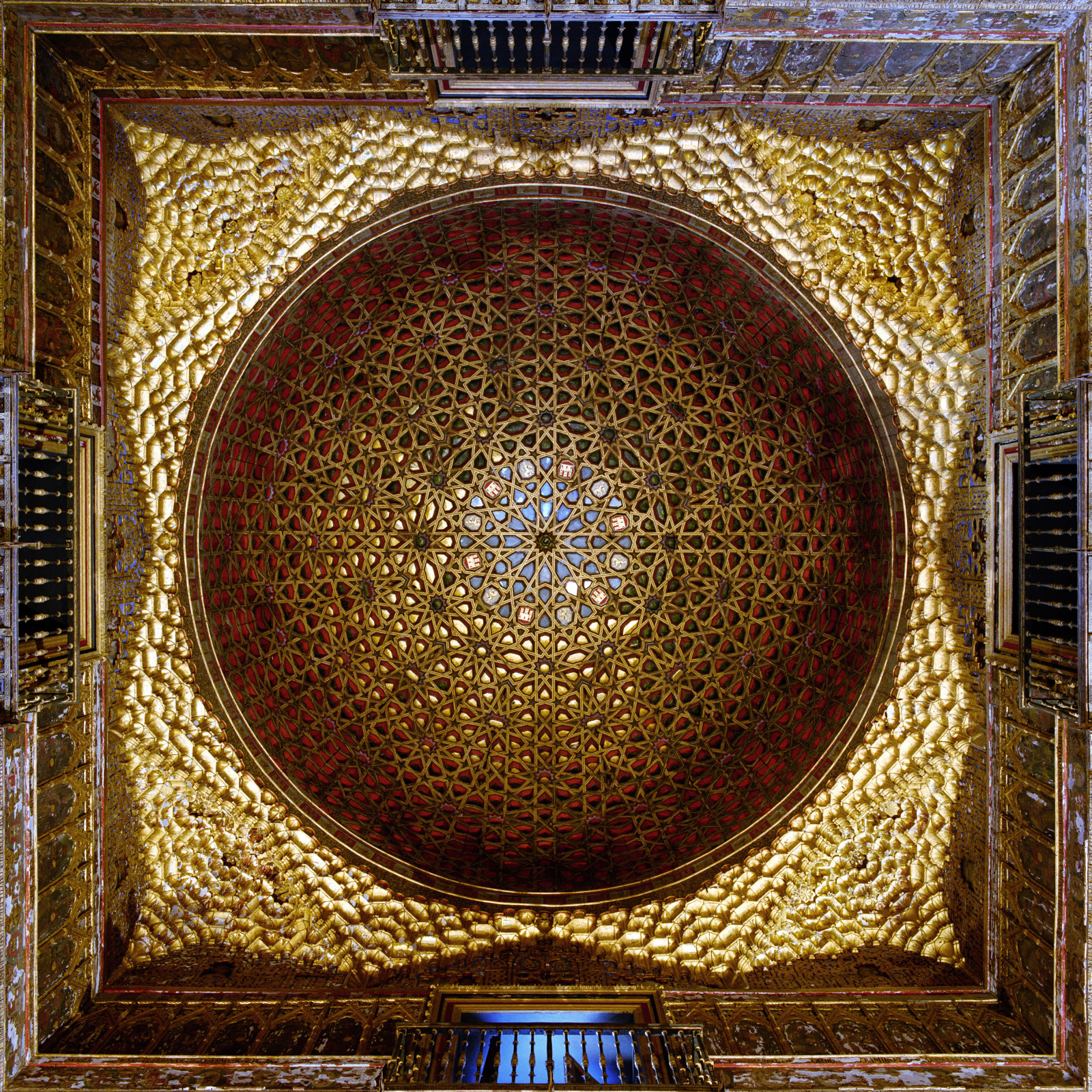 Dome #21704, Salon des Embajudores, Alcazar, Seville, Spain , 1997