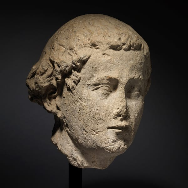 <span class=&#34;title&#34;><em>Head of a Man</em>, c. 1250</span>