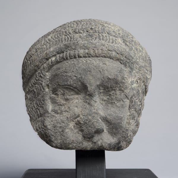 """<span class=""""title""""><em>The face of a Knight, from a full-length effigy</em>, late 13th or early 14th century</span>"""