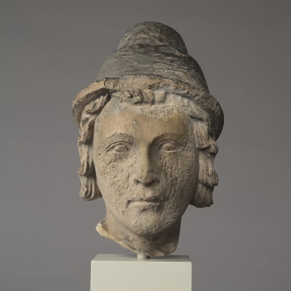 "<span class=""title""><em>Head of a young man</em>, mid-13th century</span>"