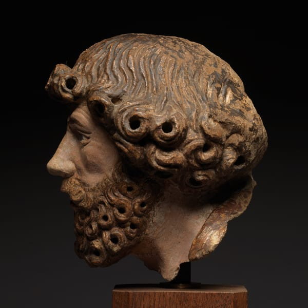 "<span class=""title""><em>Head of a Bearded Man</em>, early 16th century</span>"