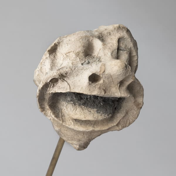 "<span class=""title""><em>A bestial face with gaping mouth</em>, c. 1250</span>"