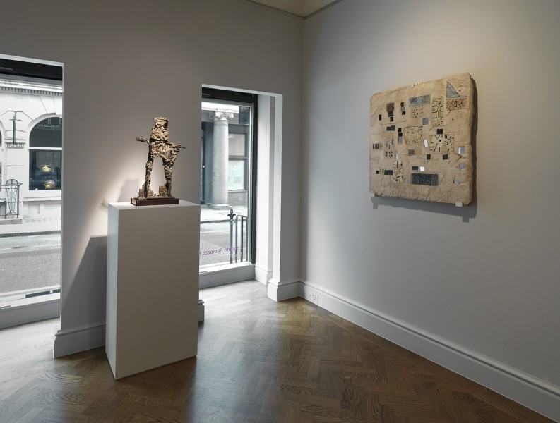 Front Gallery (Left to Right) : Figure (1956) and Abstract Relief (1954-55)