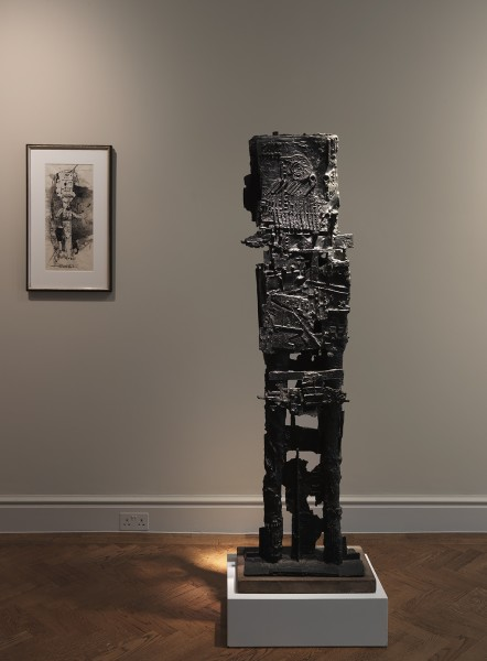 Back Gallery (Left to Right) : Standing Figure (1956) and 9XSR (1958)