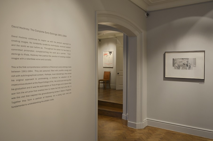 Front Gallery (Left to Right) : Rake's Poster (1963) and Myself and My Heroes (1961)