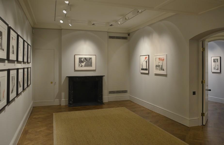 Back Gallery (Clockwise) : The Rakes Progress (1961-63), The Acrobat (1964), The Hypnotist (1963) and Jugle Boy (1964)