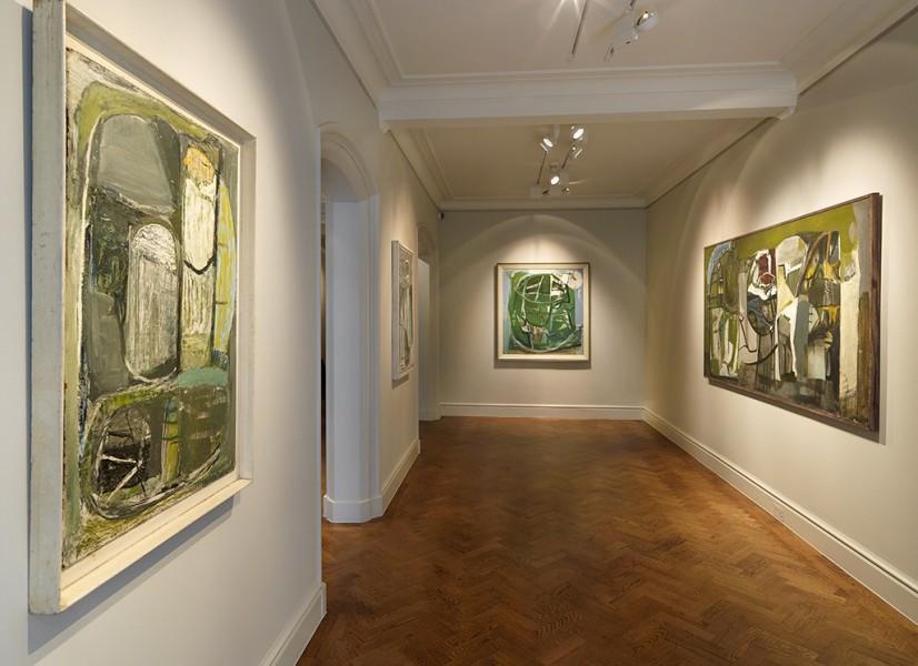 Front Gallery (Clockwise) : Farm Backs (1952), Inshore Fishing (1952), Trevalgan (1951) and Bojewyan Farms (1951-52)