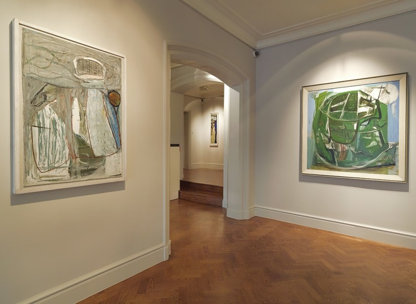 Front Gallery (Left to Right) : Inshore Fishing (1952) and Trevalgan (1951)