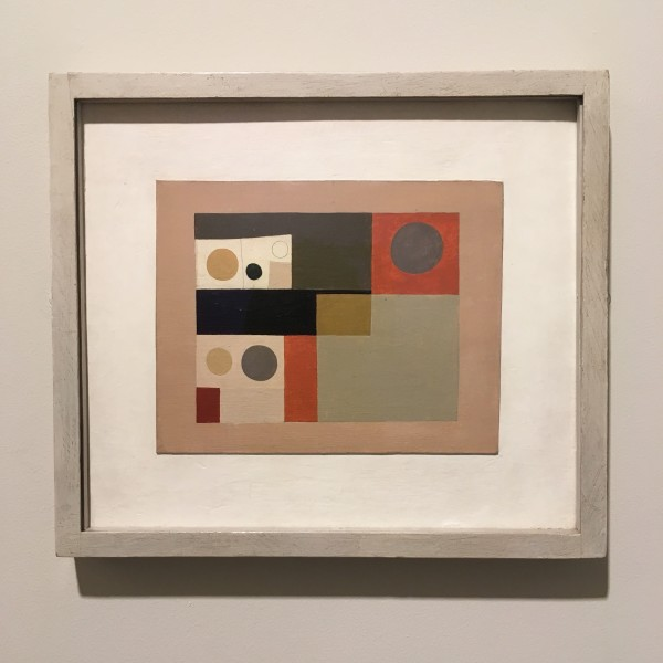 Ben Nicholson, Act Drop Curtain for Beethoven 7th Symphony Ballet (1934)