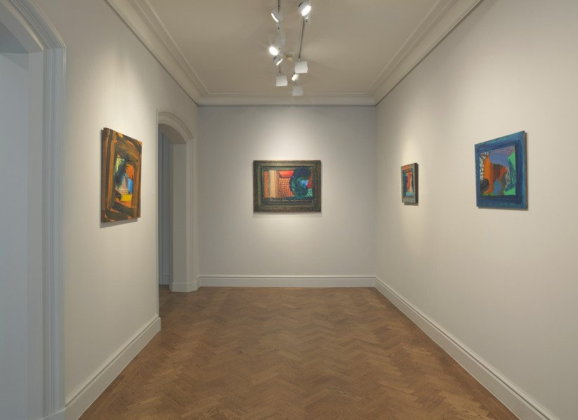 Front Gallery (clockwise) : It Can't Be true (1987-90), Menswear (1980-85), The Spectator (1984-87) and After Visiting David Hockney (1991-92)