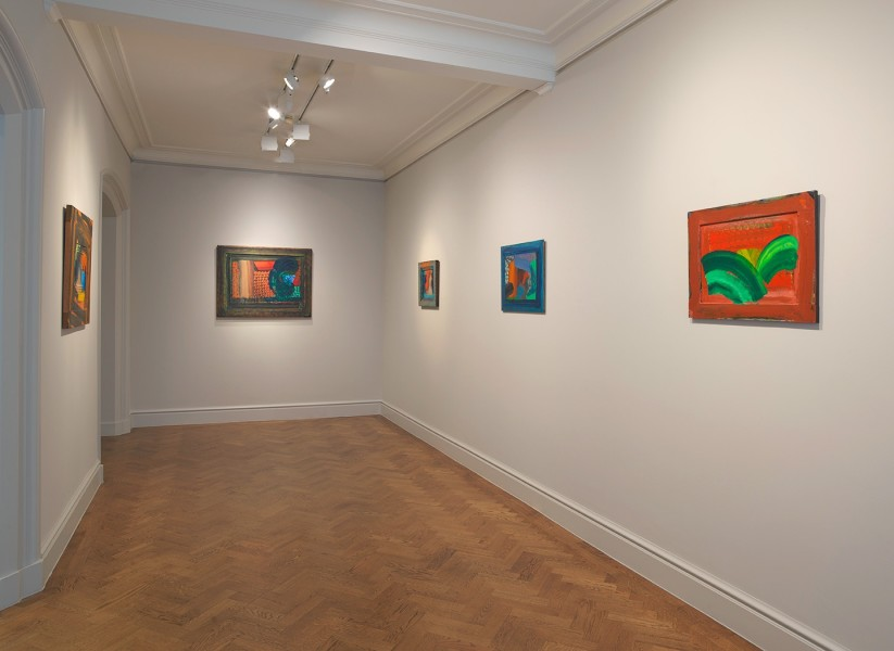 Front Gallery (clockwise) : It Can't Be True (1987-90), Menswear (1980-85), The Spectator (1984-87), After Visiting David Hockney (1991-92) and Leaves (1987-88)