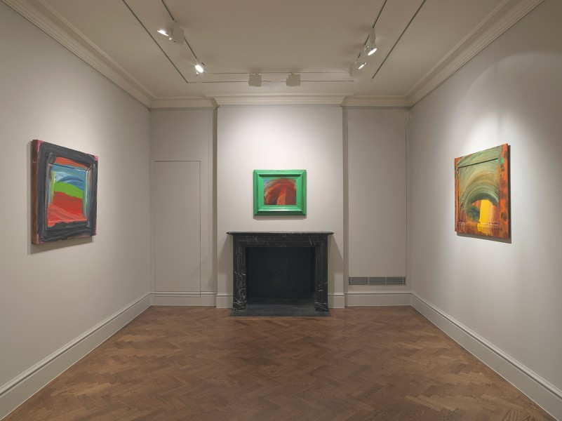 Back Gallery (clockwise): Going to America (1999), After Degas (1993) and Storm (1996-97)