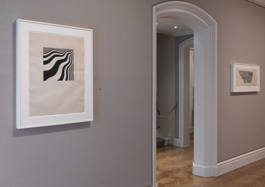 Left: Untitled [Study for Intake] (1964), right: Untitled [Study for Tremor] (1965)