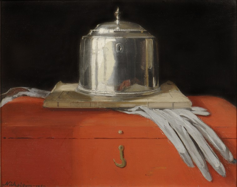 The Silver Casket and Red Leather Box (1920)