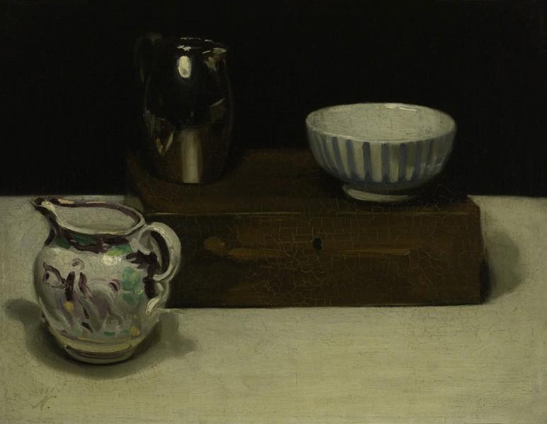 Jugs, Bowl and Box (1911)
