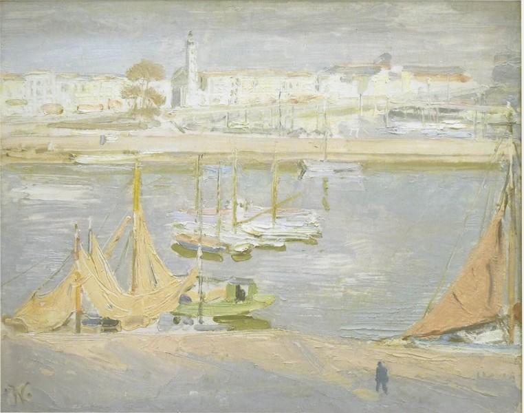 La Rochelle The Harbour (1938)