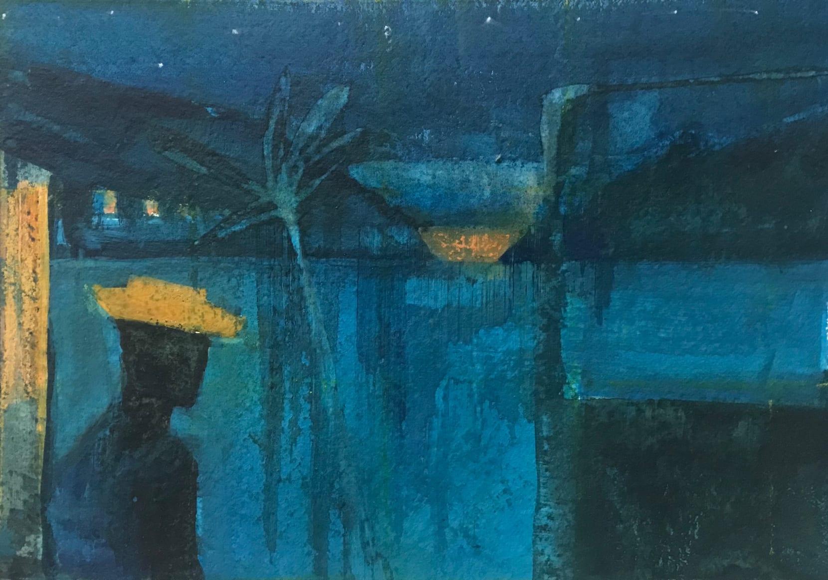 Pippa Blake, Caribbean Nights (after Derek Walcott)