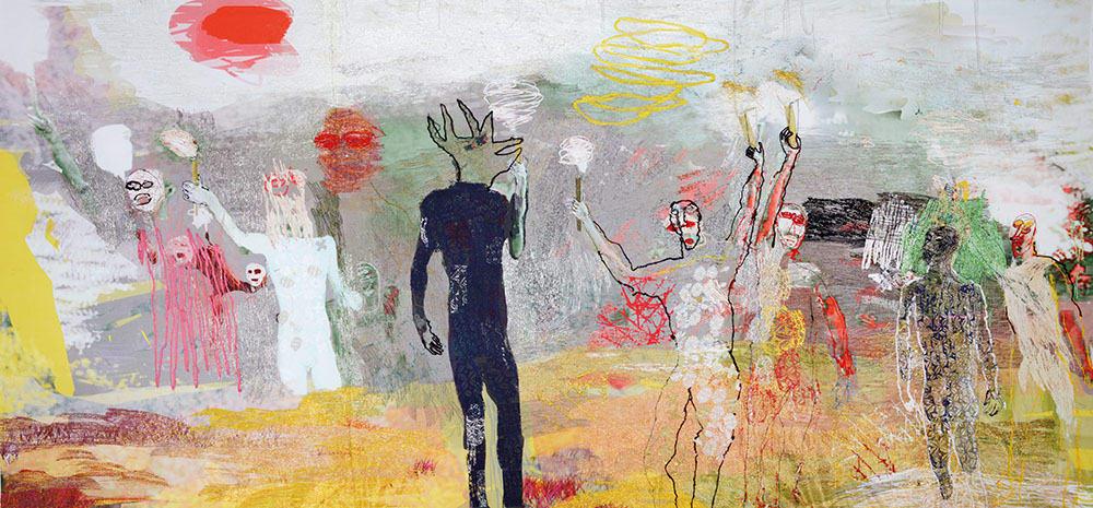 Alice Kettle, Golden Dawn, 2014