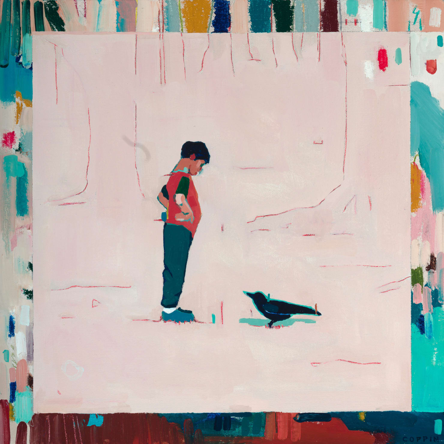 Fred Coppin, Boy Vs Crow, 2021
