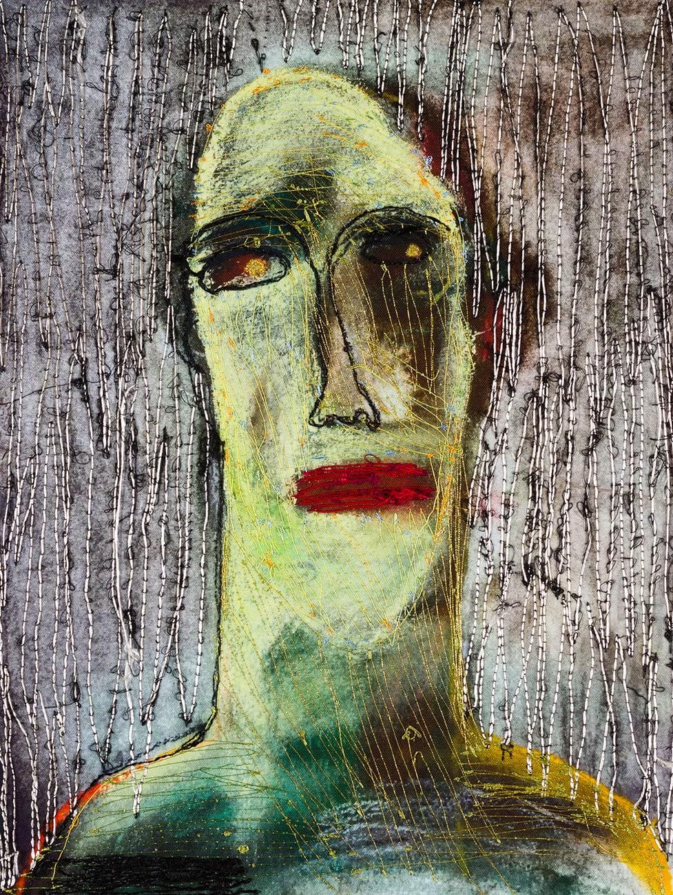 Alice Kettle, Portrait of Mouti, 2019