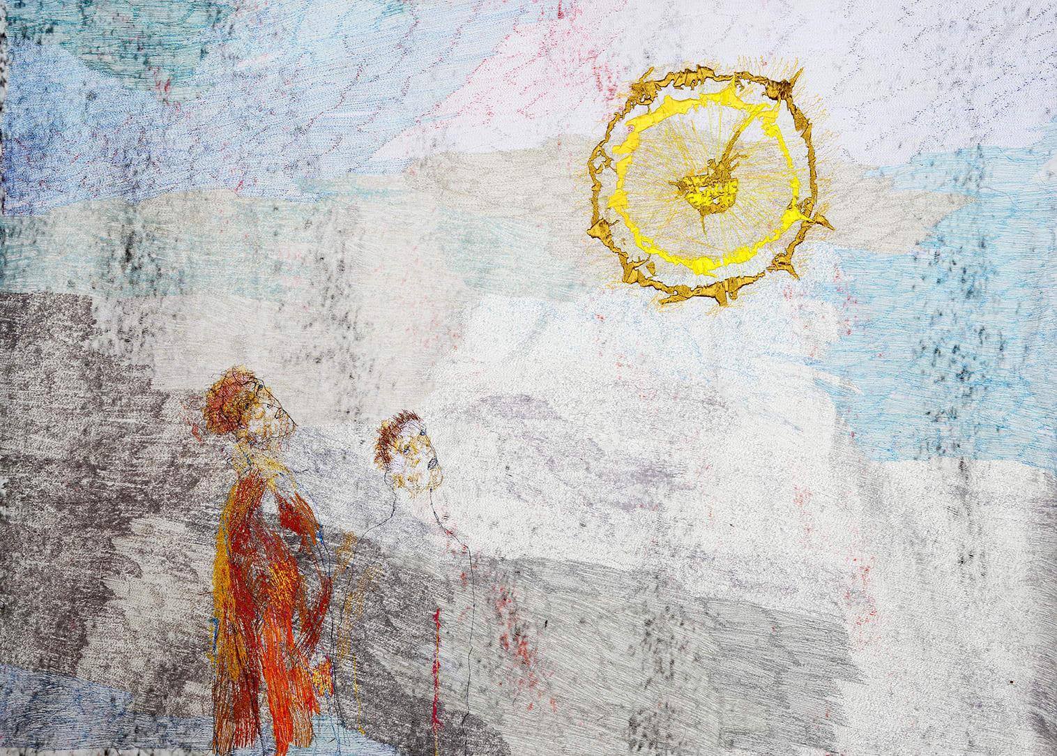 Alice Kettle, Sunbathers, 2017