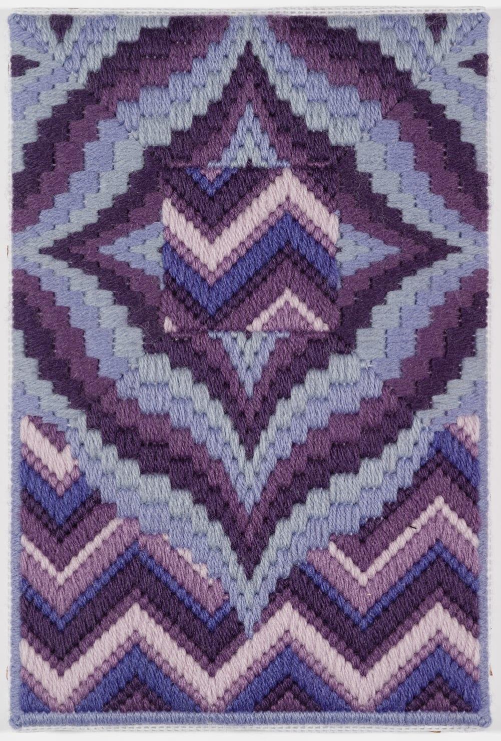Cecilia Charlton, Rainbows on Titan (in memoriam to my childhood drawings) [purple], 2018