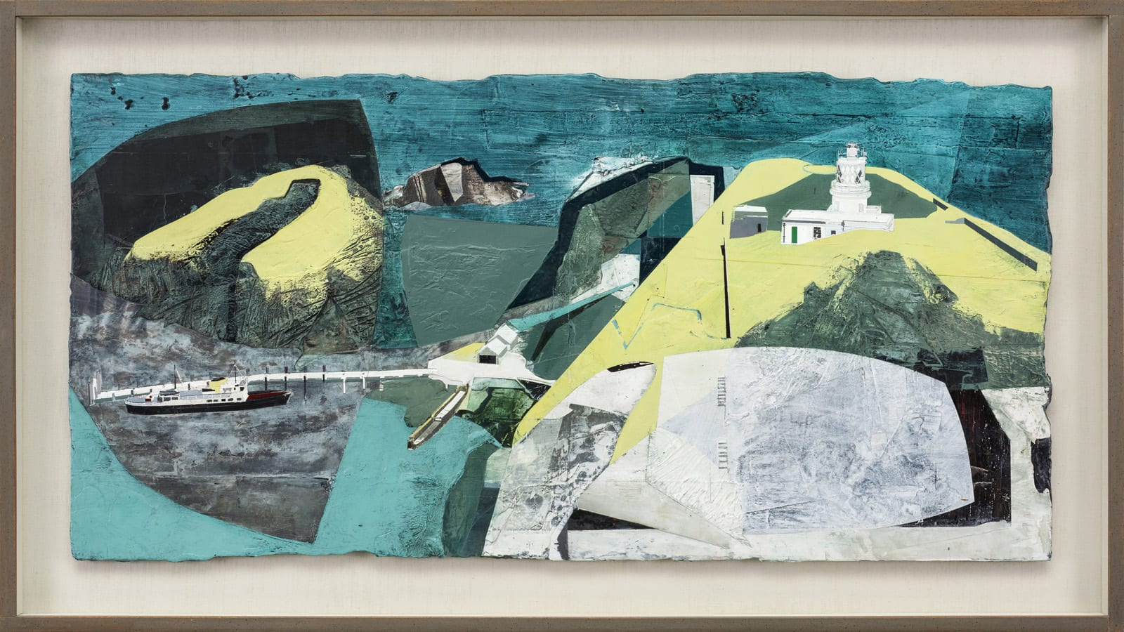 Jeremy Gardiner, Turquoise Harbour, Lundy South Lighthouse, 2016