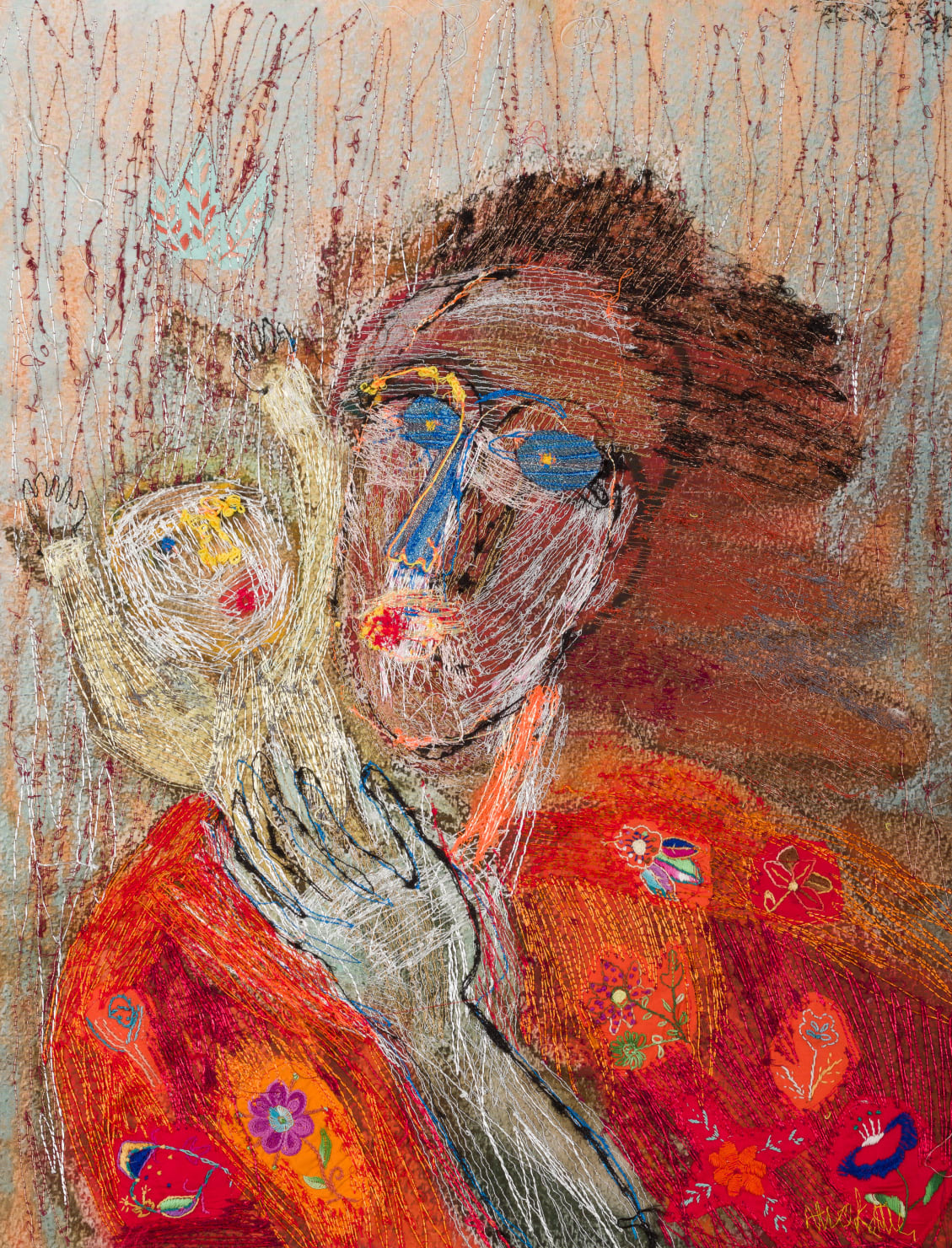 Alice Kettle, Woman and Baby, 2019