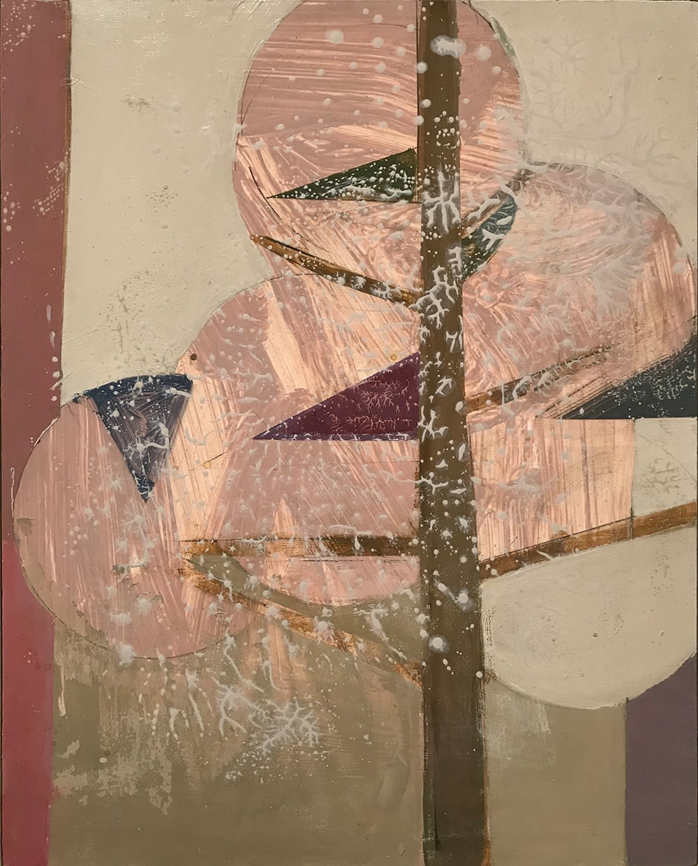 Daisy Cook Tree with Magenta Triangles