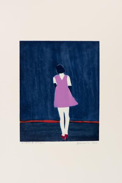 Tom Hammick, Violetta II, 2015