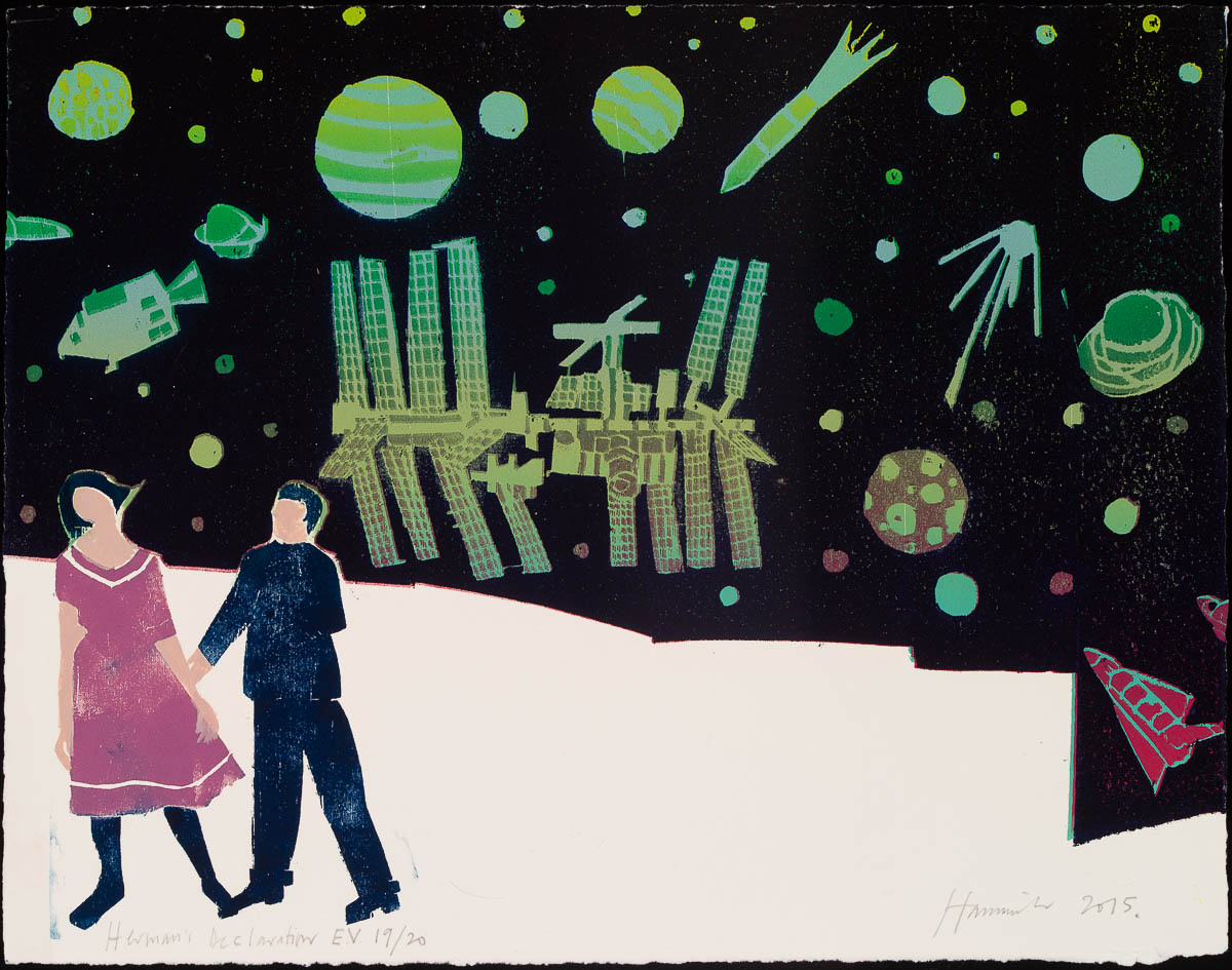 Tom Hammick, Hermann's Declaration, 2015