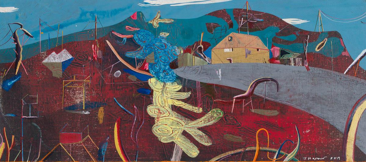 John Harmer, Surreal Blue, 2019