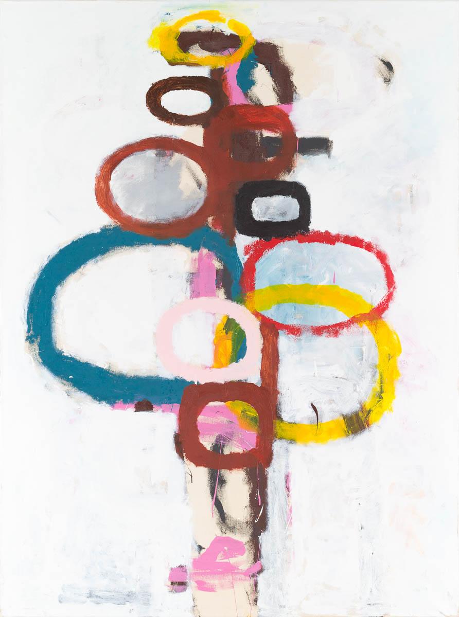 Peter Waldron, Totem Painting 1, 2012