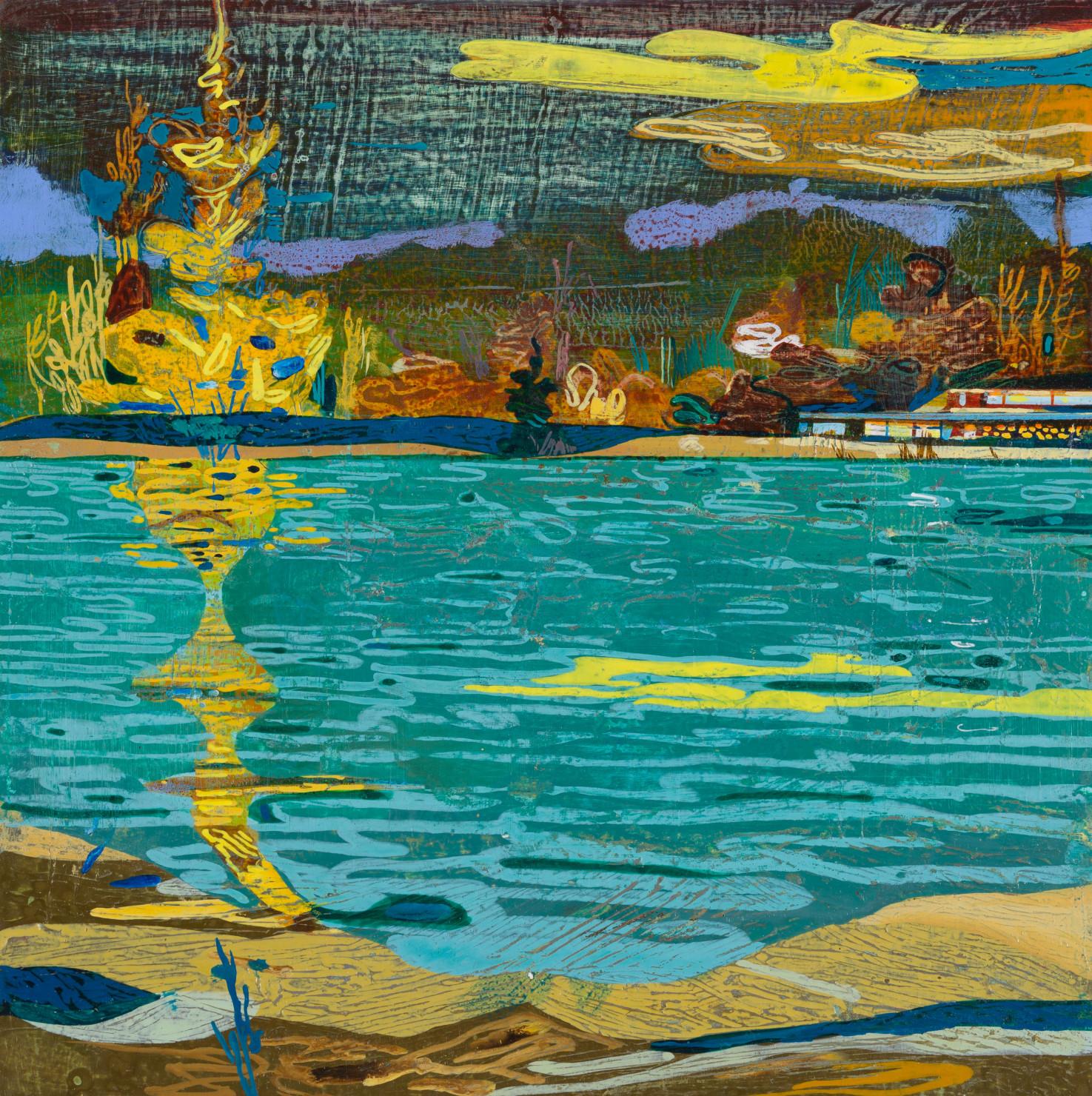 John Harmer, Yellow Cloud, 2019