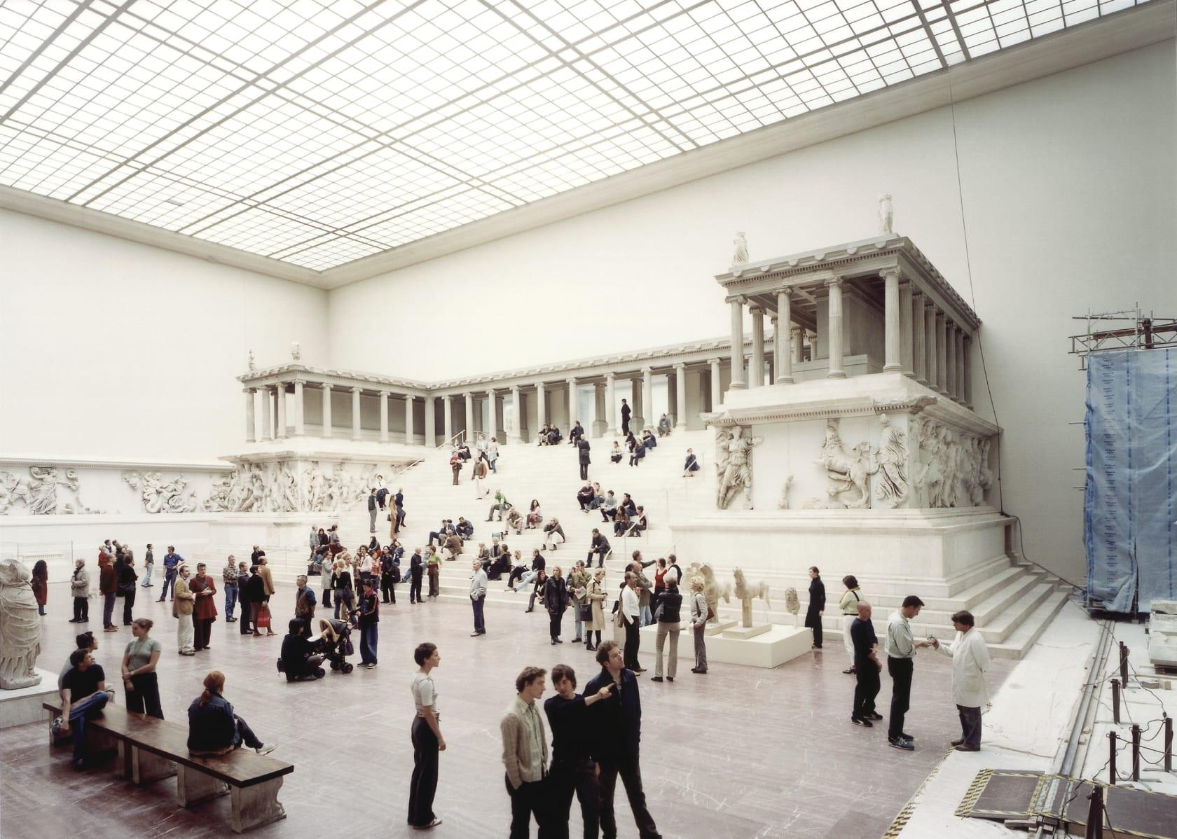 Thomas Struth Pergamon Museum I Berlin 2001 Marian Goodman