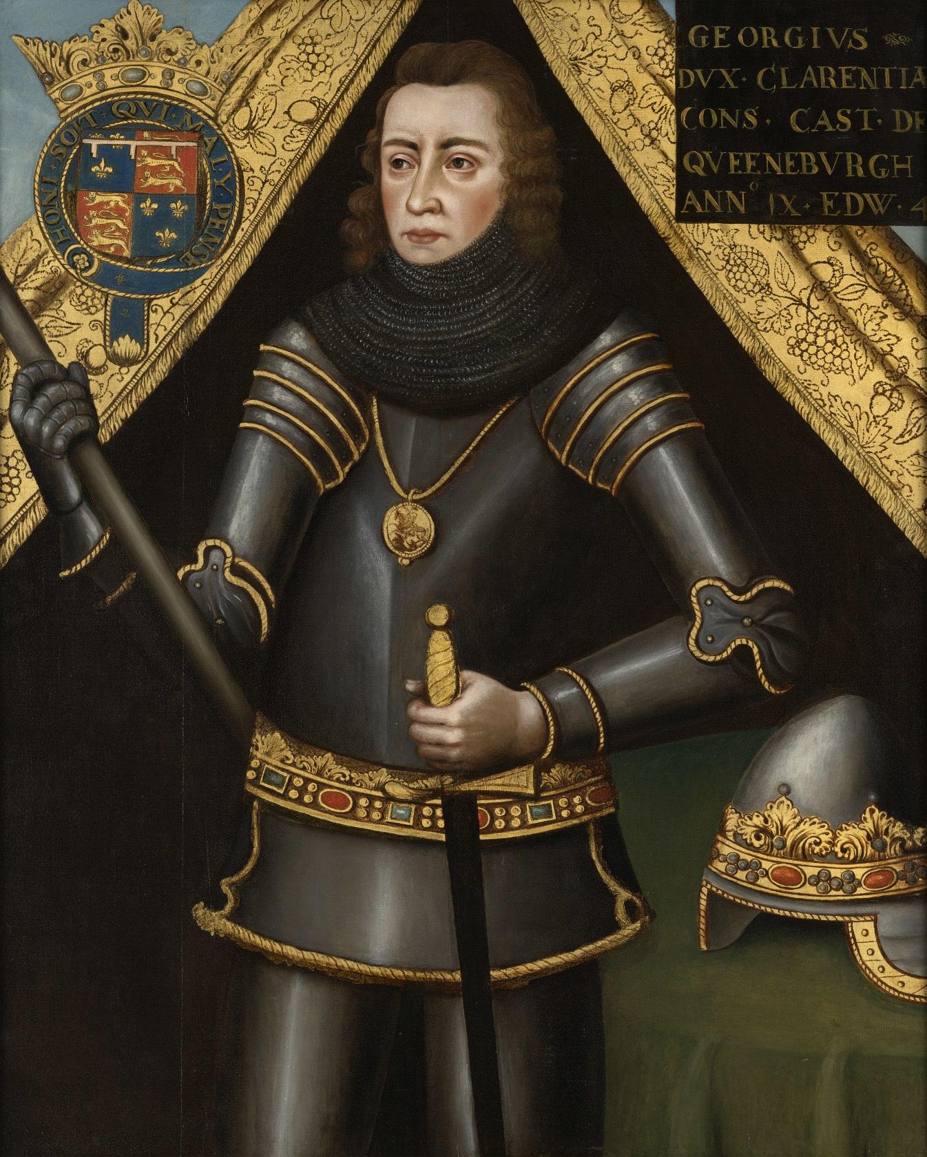 English School | Portrait of George Plantagenet, 1st Duke of Clarence  (1449-1478), K.G. | Philip Mould & Company