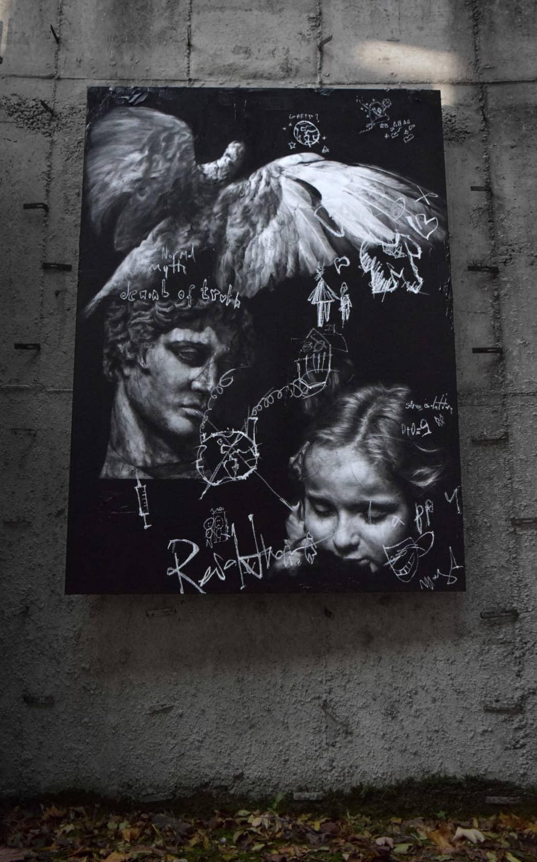 Igor Dobrowolski Denial of Truth Oil on Canvas