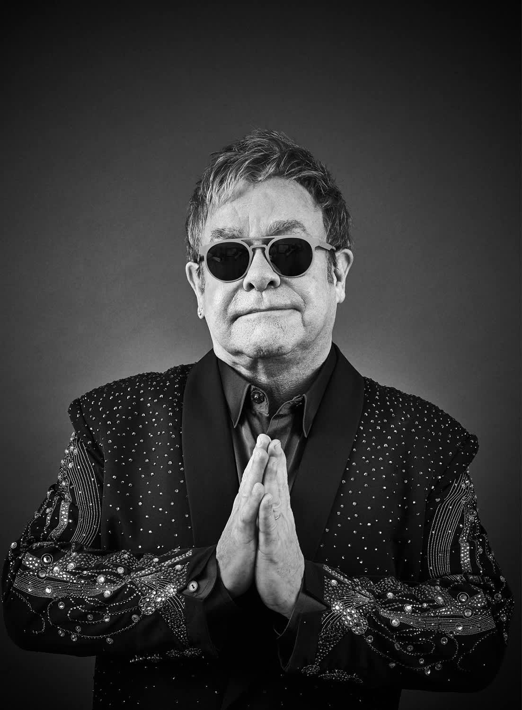 Andy Gotts Elton John Fine Art Giclée Archival Print