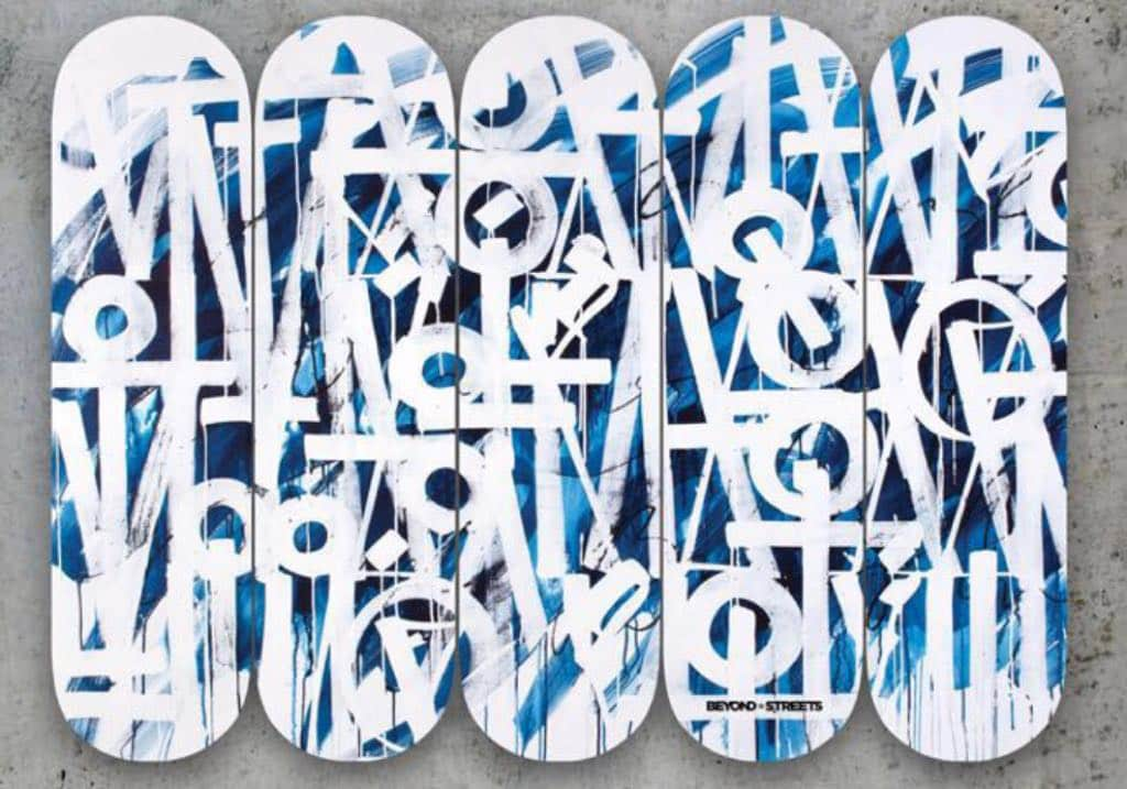 Retna, Exclusive Retna x Beyond The Streets Skate Deck, 2018
