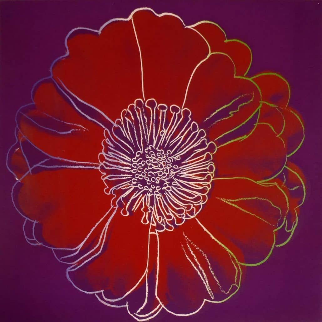 Andy Warhol, Flower for Tacoma Dome CA., 1982