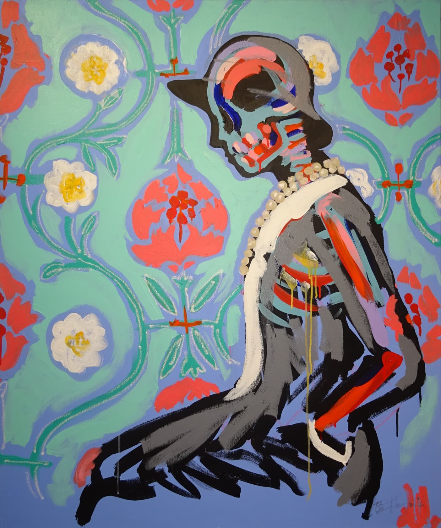 Bradley Theodore, Coco in Flowers, 2016