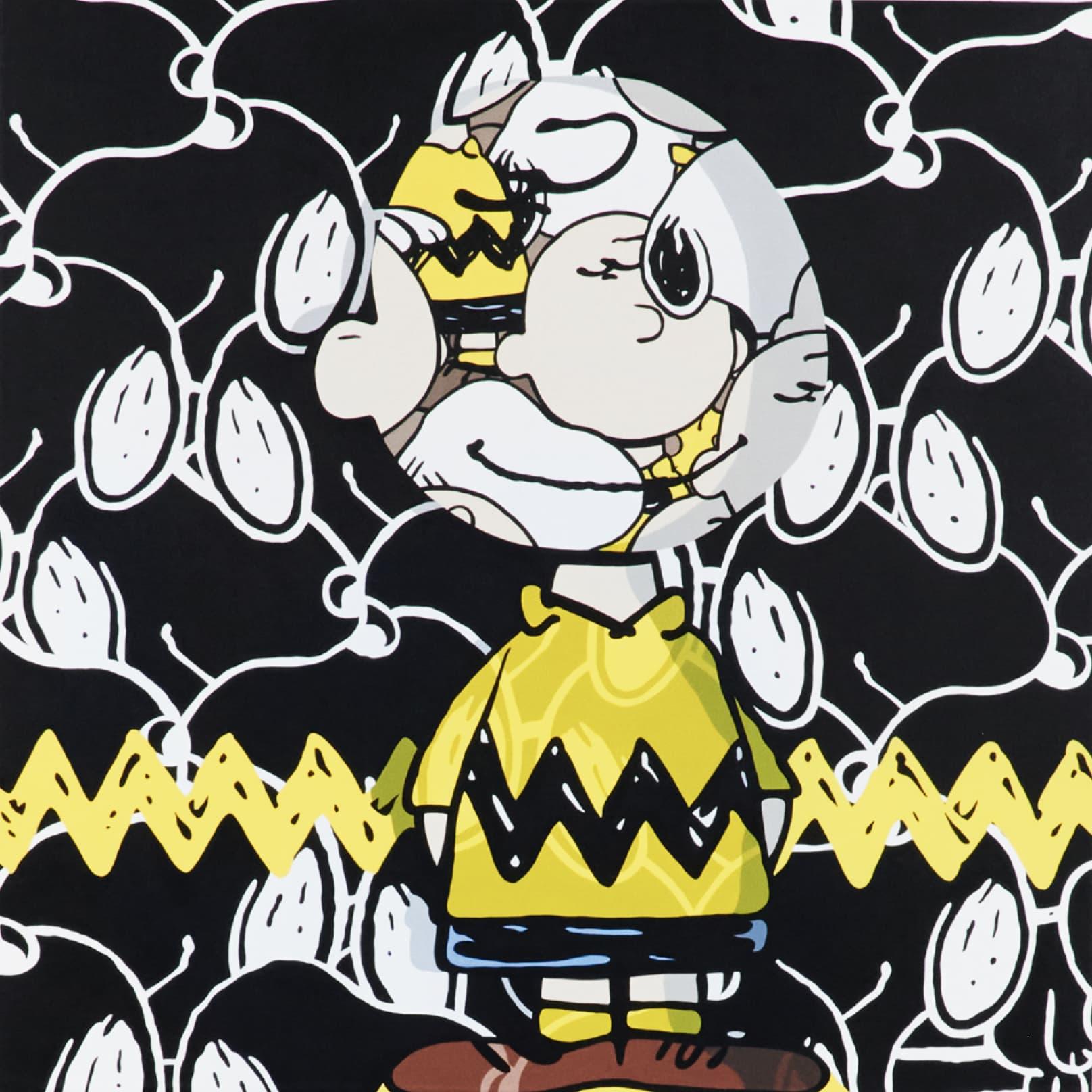 Jerkface GRANDGRIEF Acrylic on Canvas