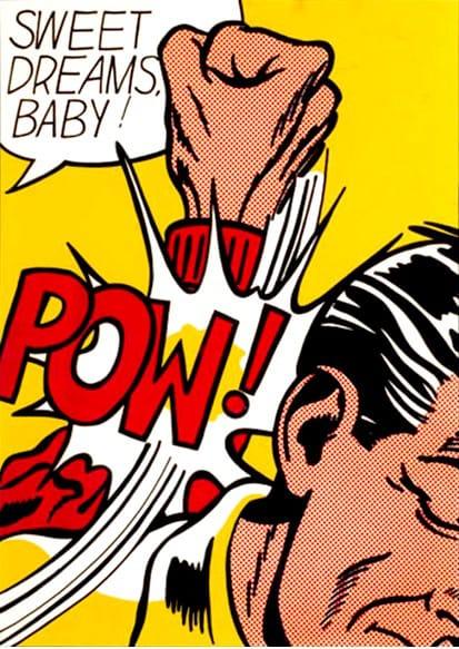 Roy Lichtenstein Sweet Dreams Baby! Screenprint