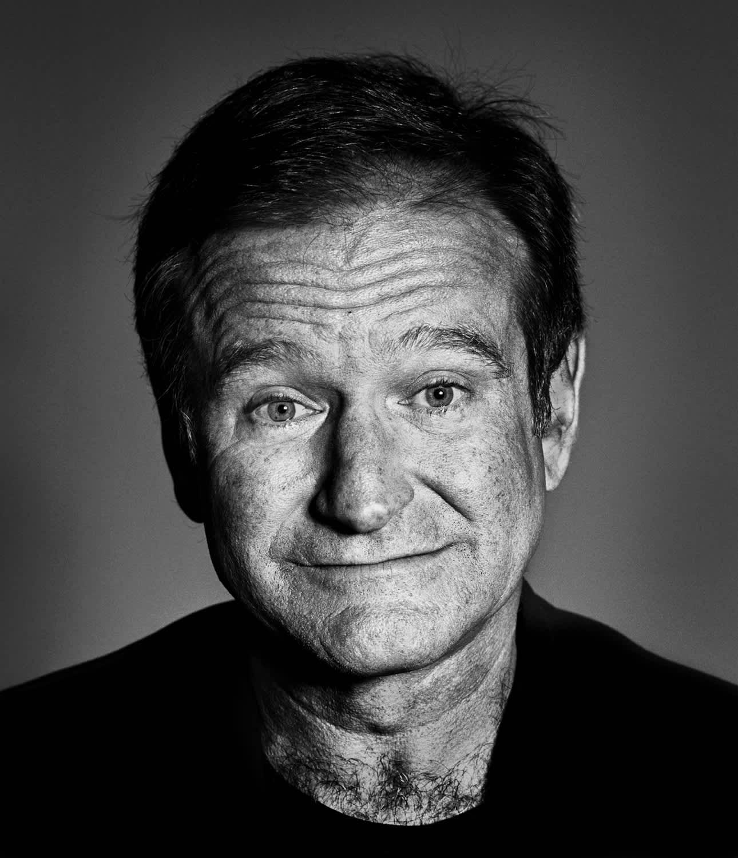 Andy Gotts Robin Williams Fine Art Giclée Archival Print