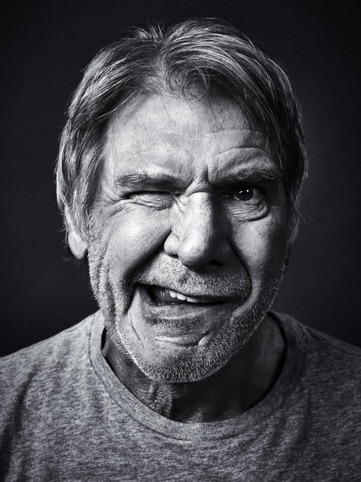 Andy Gotts Harrison Ford Fine Art Giclée Archival Print