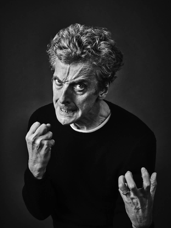 Andy Gotts Peter Capaldi Fine Art Giclée Archival Print
